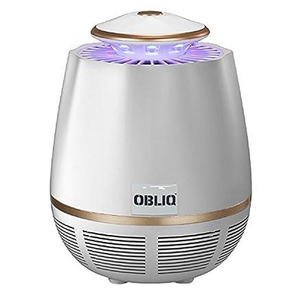 OBLIQ Edon Mosquito Trap Killer USB Powered with 360 Degree UV Light