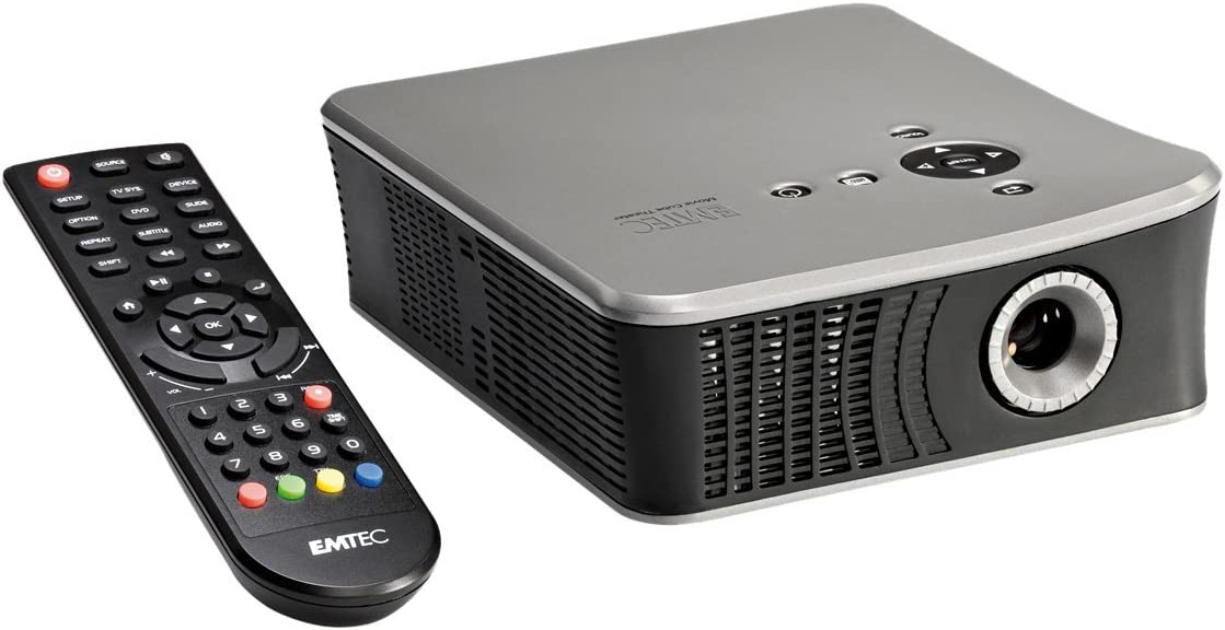 Emtec Movie Cube Theater T800X Video - Proyector (50 lúmenes ANSI ...