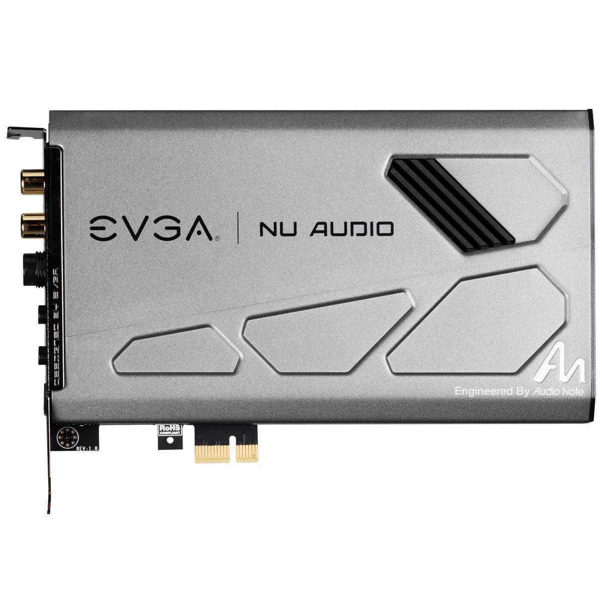 EVGA Nu Audio Card, 712-P1-AN01-KR, Lifelike Audio, PCIe, RGB LED, Designed with Audio Note (UK) by EVGA (Image #3)