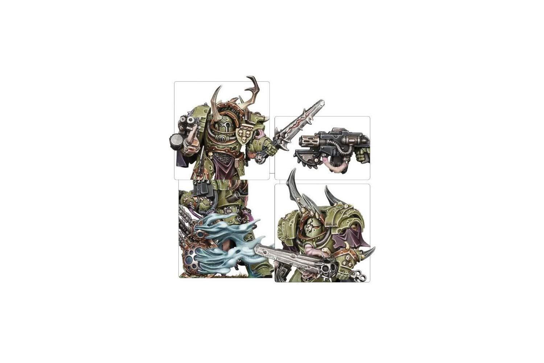 Games Workshop 99120102074'' Death Guard Blightlord Terminators Miniature by Games Workshop (Image #4)