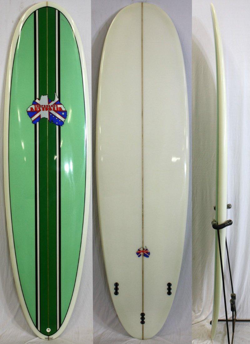 Surfboards Australia (サーフボードオーストラリア)サーフボード [stripe/green] 6'8