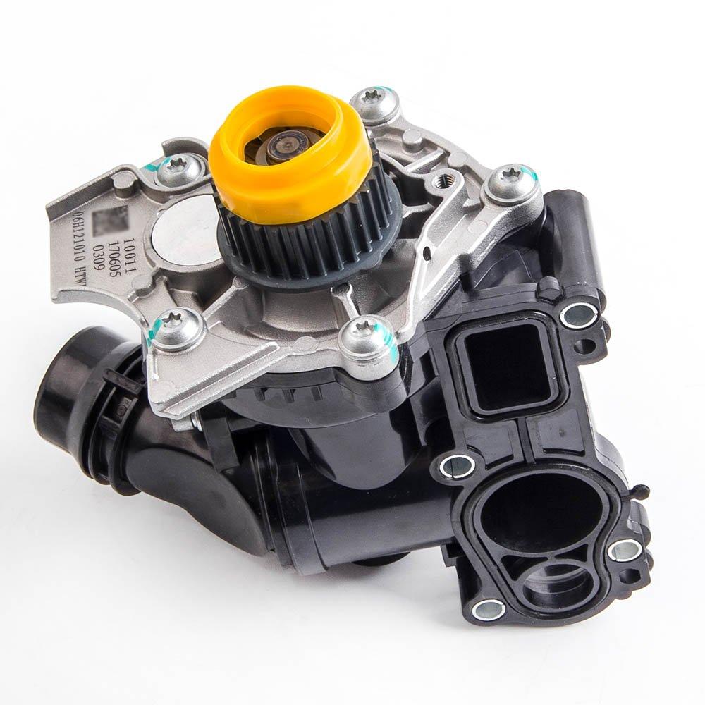 maXpeedingrods Water Pump Thermostat Assembly for Audi VW Golf Jetta GTI Passat Tiguan 1.8T 2.0 06H121026DD 06H121026B