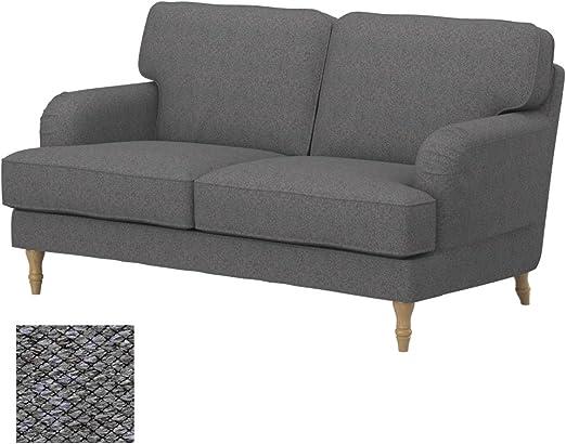 Soferia - IKEA STOCKSUND Funda para sofá de 2 plazas, Nordic Grey: Amazon.es: Hogar