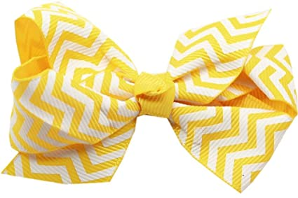 3562e1012d1f Amazon.com : Mirage Pet Products Hair Bow Chevron French, Barrette ...