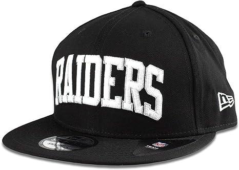 b1171edf0 Amazon.com : New Era Oakland Raiders Hat NFL Black White Arched ...