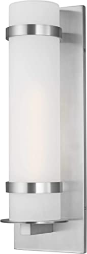 Sea Gull Lighting 8718301-04 Alban Large One Light Outdoor Wall Lantern Outside Fixture