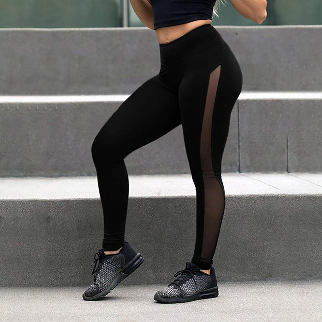 TnaIolral Women Pants Workout Leggings Fitness Sports Gym Running Yoga by TnaIolral (Image #4)