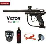 MAddog Spyder Victor Bronze Paintball Gun Package