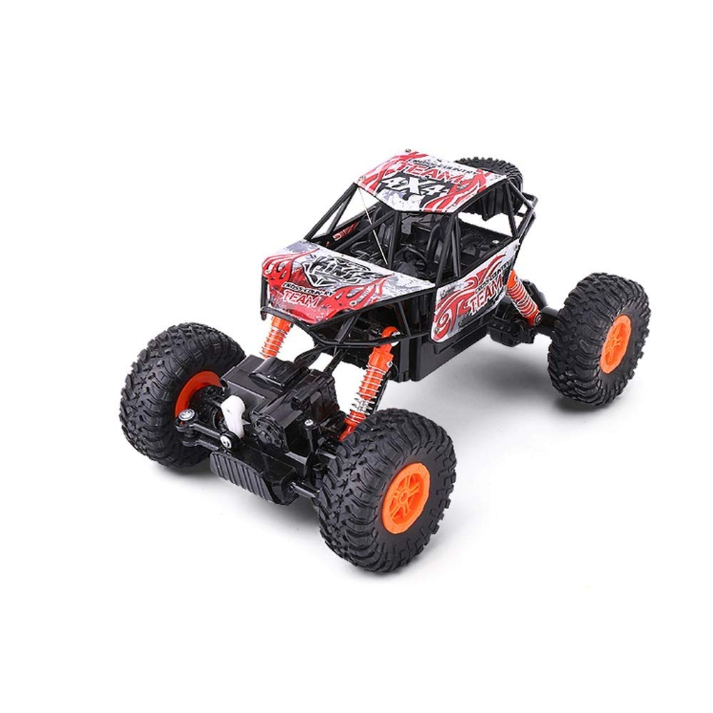 Red 2Battery IBalody Good Birthday Gifts For Kids 6 Charging Wireless Fourwheel Drive RC Car Model Toy Remote Control Vehicle Truck (color   Red, Size   2Battery)