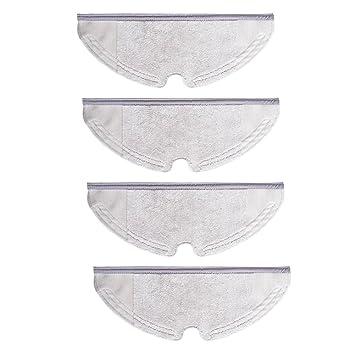 Paños de microfibra para recambio de trapo de microfibra para robot aspirador Xiaomi Mi 4 piezas: Amazon.es: Hogar
