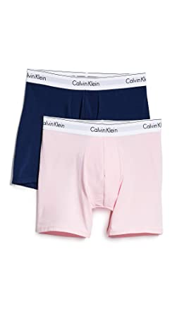 Image Unavailable. Image not available for. Color  Calvin Klein Underwear  Men s Modern Cotton Stretch 2 Pack Boxer Briefs ... 154d67c30