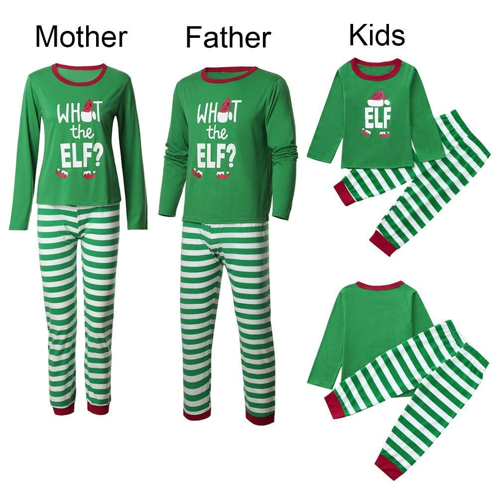 85e8511be912 Amazon.com   Iusun Family Pajamas Matching Sets