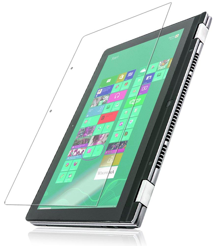 IQ Shield Screen Protector Compatible with Lenovo IdeaPad Yoga 13 inch LiquidSkin Anti-Bubble Clear Film