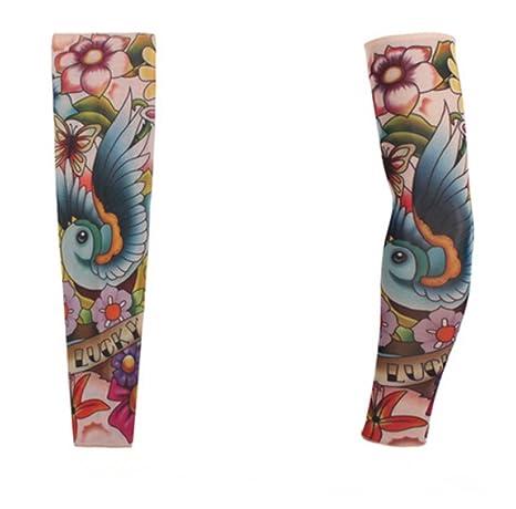 Tatuaje adhesivo de manga mangas tienen cosido Cuff europeas y ...