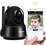 Wireless Camera, FREDI Wifi IP Camera 720P Home Surveillance Security Camera, Baby Monitor with P2P, Motion Detection Alert, Two-Way Audio & Night Vision (Black)