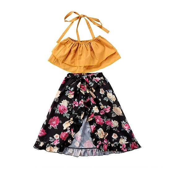 Amazon.com: Conjunto de ropa para bebés y niñas con ...