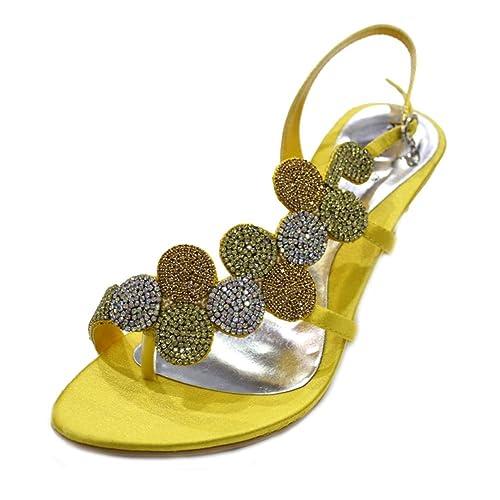 4612dd244a0 Wear  amp  Walk UK MIZRA - Sandalias de fiesta para mujer