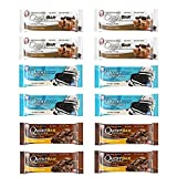 #8: Quest Nutrition Protein Bar Chocolate Lover's Variety Pack. Low Carb Meal Replacement Bar w/ 20g+ Protein. High Fiber, Soy-Free, Gluten-Free (12 Count)