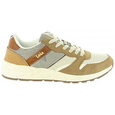 Zapatillas Deporte de Hombre LOIS JEANS 84642 68 BEIG: Amazon.es: Zapatos y complementos