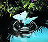 Solar Premium Solar Light Water Butterfly / Dragonfly Outdoor Garden Colour Changer - This Floating Butterfly Solar Light changes colours to safely illuminate any pond or fountain feature. BUY YOURS TODAY
