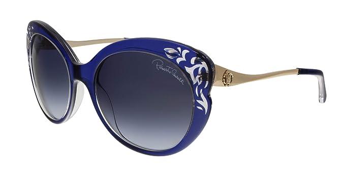 Roberto Cavalli Gafas de sol, Azul (Blue), 55.0 para Mujer ...