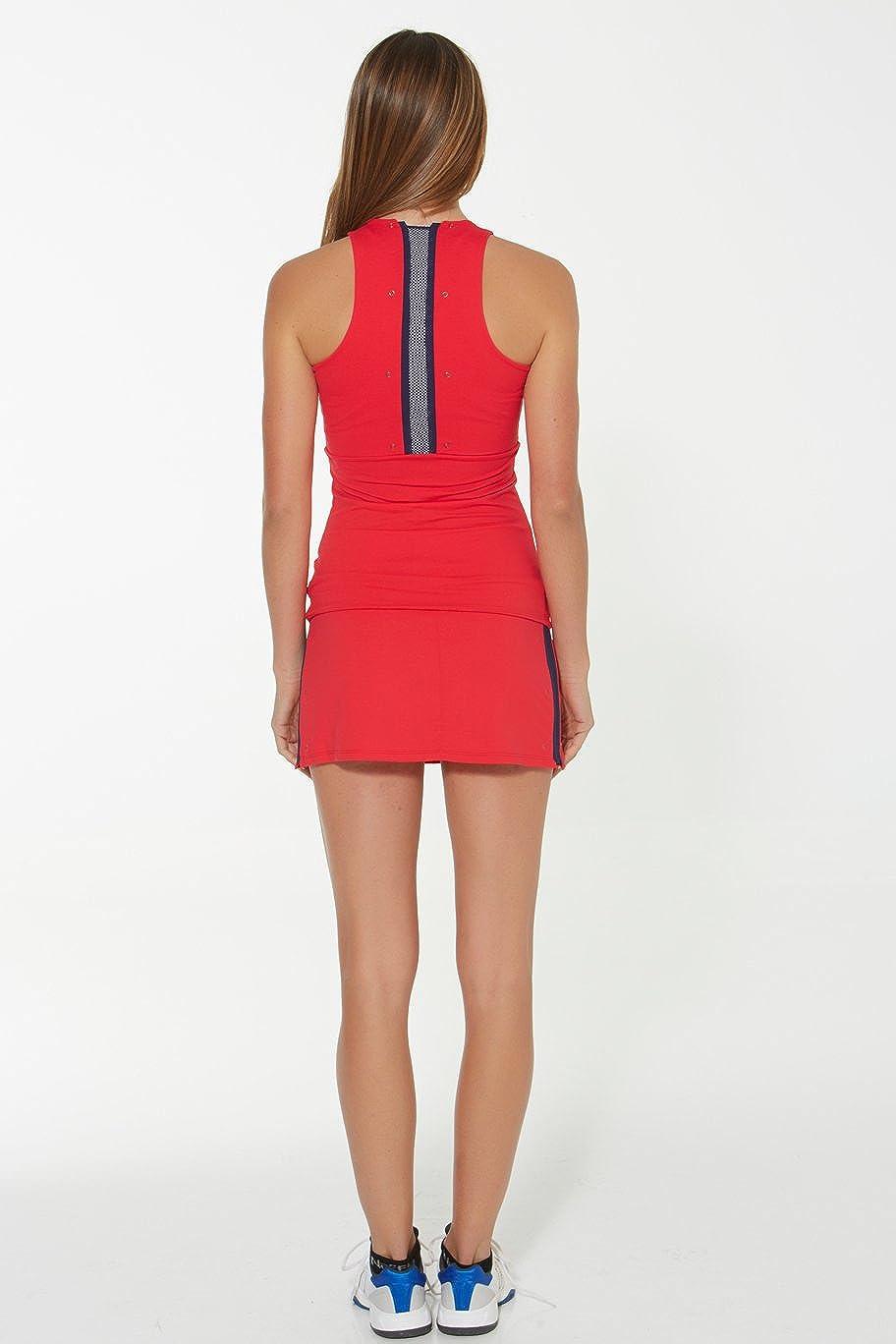 Naffta Tenis Padel - Camiseta Asas para Mujer, Color Rojo ...