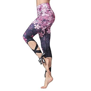 64f7984815ee JIMMY DESIGN Damen Yoga Leggings Ballett Design - S, M, L  Amazon.de   Bekleidung