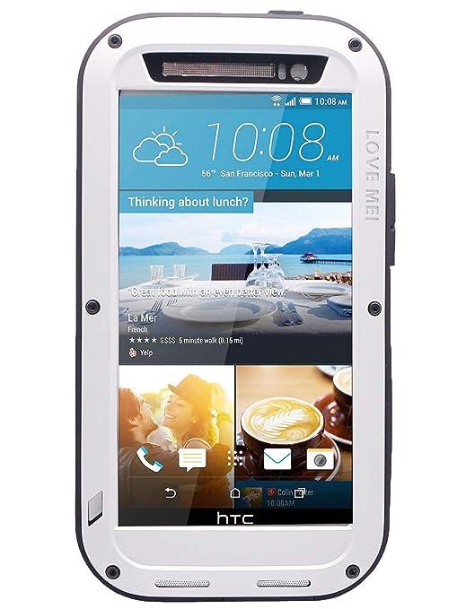 Amazon.com: HTC One M9 Case, 3 C-aone Gorilla Glass Lujo de ...