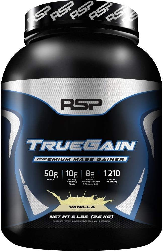 Rsp Nutrition TrueGain Mass Gainer (6lbs) 1 Unidad 2720 g