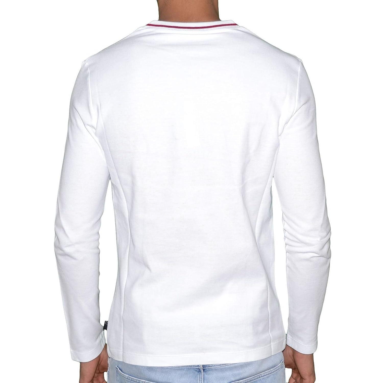f70b7d865e9 Just Cavalli - Sweat Fin - Homme - 82607 Cravate - Blanc  Amazon.fr   Vêtements et accessoires