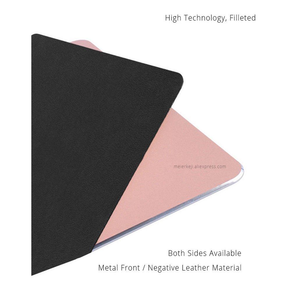 luxsunn nuevo único metálico de oficina alfombrilla de ratón impermeable antideslizante de aleación de aluminio ultrafina Moda aleación de aluminio ...