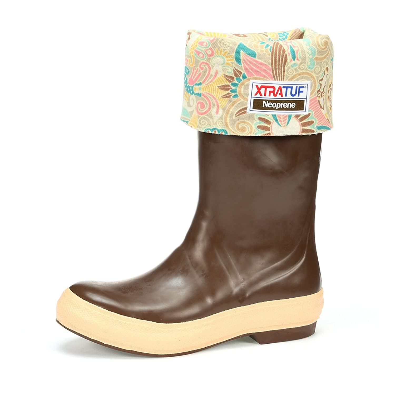 """XtraTuf Women's Legacy 15"""" Boots w/ Floral Liner, 22812G"""