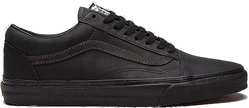 all nero vans work scarpe