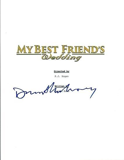 Dermot Mulroney Signed Autographed My Best Friend S Wedding