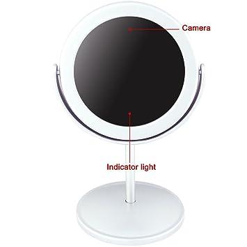 Electro-Weideworld - 720*480 Mini Cámara Espía Espejo Grabador de Vídeo Videocámara Home Seguridad DVR Cámara Spycam: Amazon.es: Bricolaje y herramientas