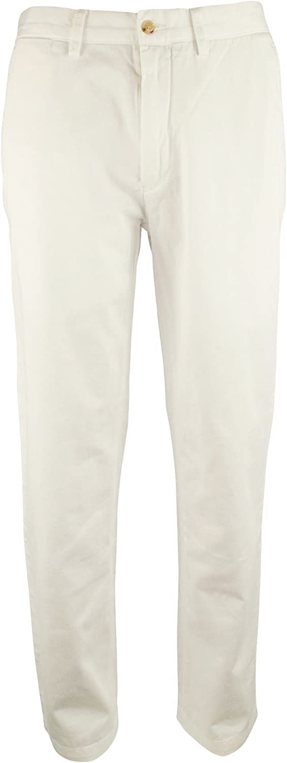 Polo Ralph Lauren Mens 38X32 Classic Fit Chinos Pants White 38