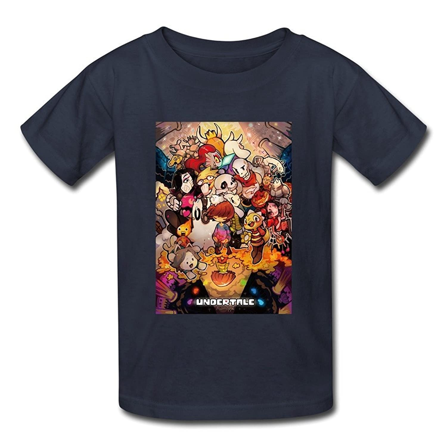 Funny FAV UNDERTALE Tee Shirt Navy For Youth