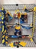 15 Piece Solar System Sugar Glider Cage Set