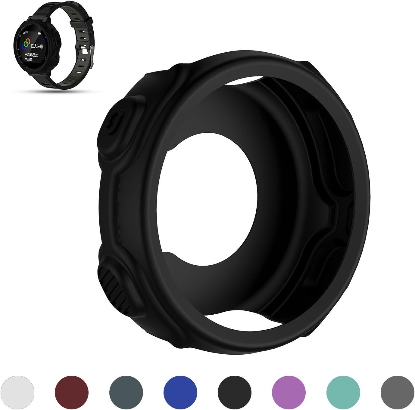 Protector de iFeeker, para Garmin Forerrunner 235/735XT, de silicona suave, resistente a los golpes