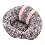 Alapaste Baby Support Seat Sofa Safe Plush Soft U Shaped Baby Learning to Sit Chair PP Cotton Pillow Protector Cushion Toys Sitting Sofa Dining Chair for 0-2 Years Old Baby
