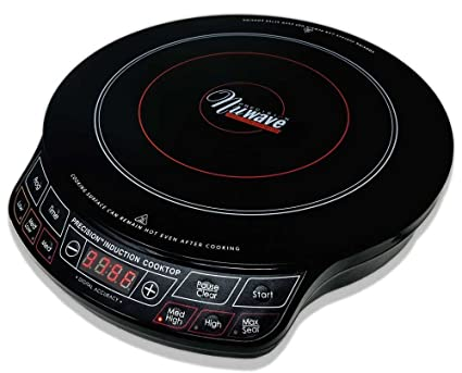 amazon com nuwave precision induction cooktop 1300 watts electric