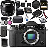 Fujifilm X-T2 Mirrorless Digital Camera (Body Only) 16519247 + Fujifilm XF 23mm f/1.4 R Lens 16405575 Bundle