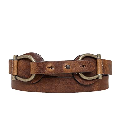 d7204091e Amsterdam Heritage Leather Belt 25504 Brown Double Buckle belt at ...