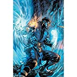 "Trends International RP15032 Mortal Kombat SubZero Comic Wall Décor, 22.375""x 34"""