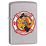 Volunteer Firefighter Fire Department Custom Zippo Windproof Collectible Lighter. Made in USA Limited Edition & Rare