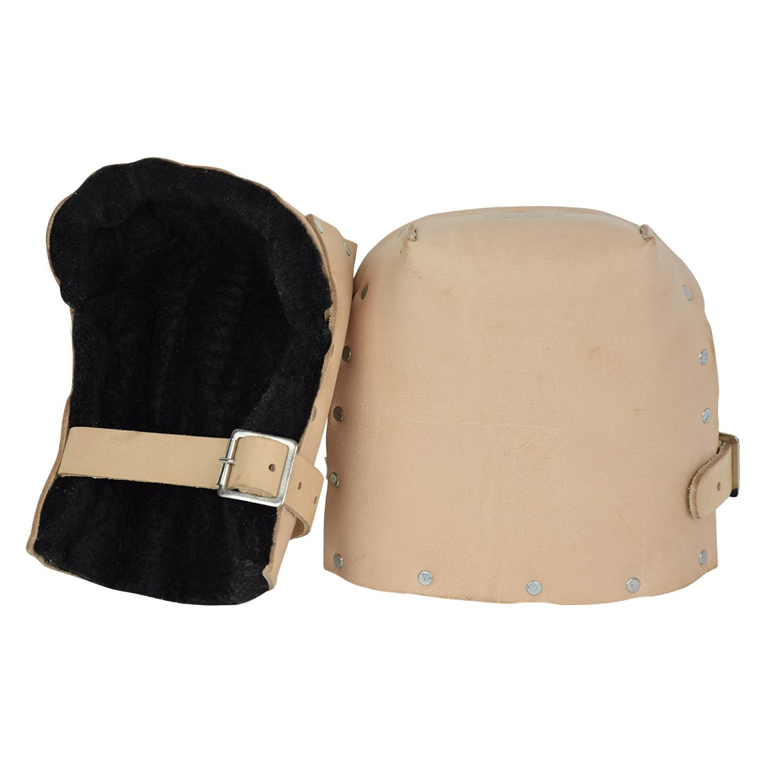 Prince P-309B Heavy Duty Top Grain Leather Kneepads with Thick Felt Lining for Construction by Prince (Image #2)