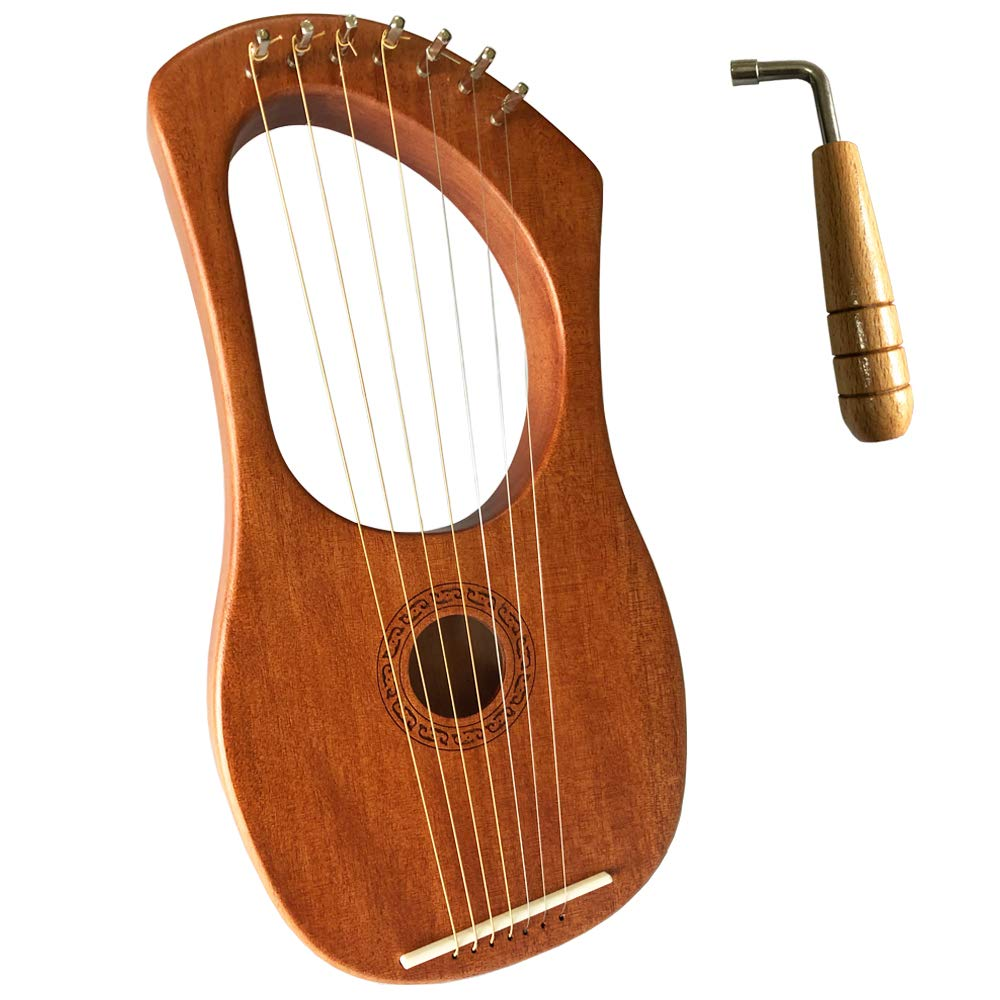 Luvay Lyre Harp - Orchestral Strings Instrument, with Tuning Wrench by LUVAY
