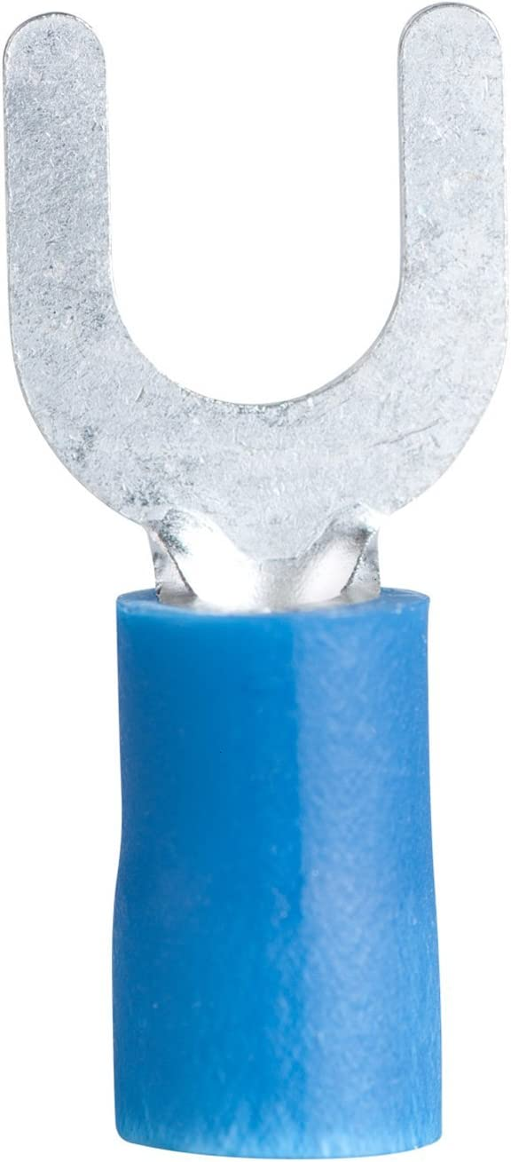 Made in the USA w// 3M Heat Shrink 100 Pk Blue 14-16 Ga Ring Terminals #10 Stud