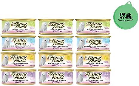 Amazon.com: Purina Fancy – Pack de 4 latas de sabor para ...