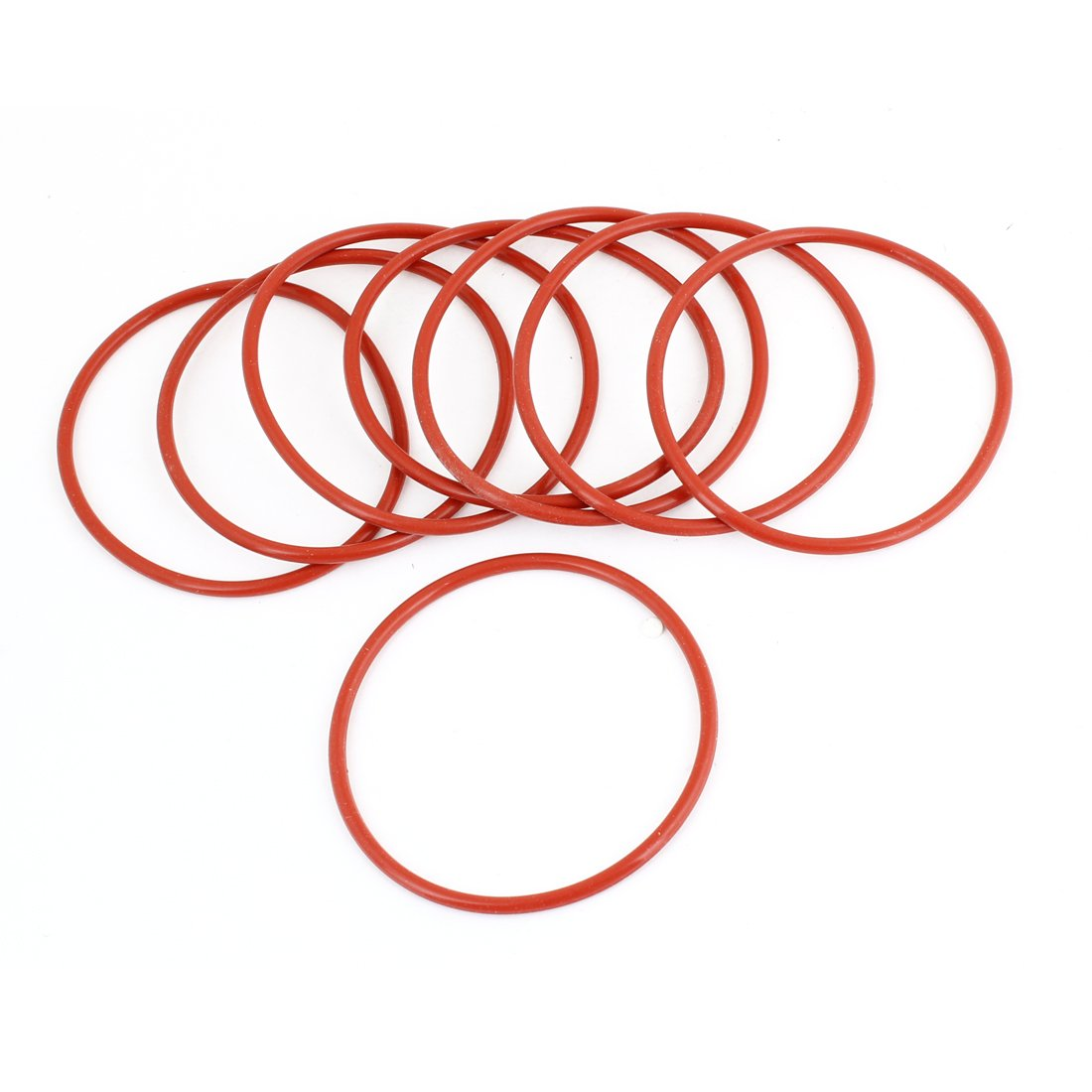 8 St/ück 68 mm Durchmesser 2 mm Gummi O-Ringe Dichtungen